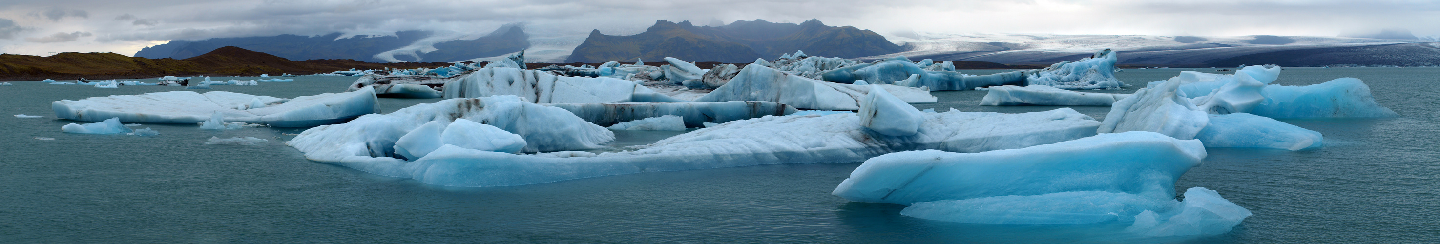 Swimming Blue Ice