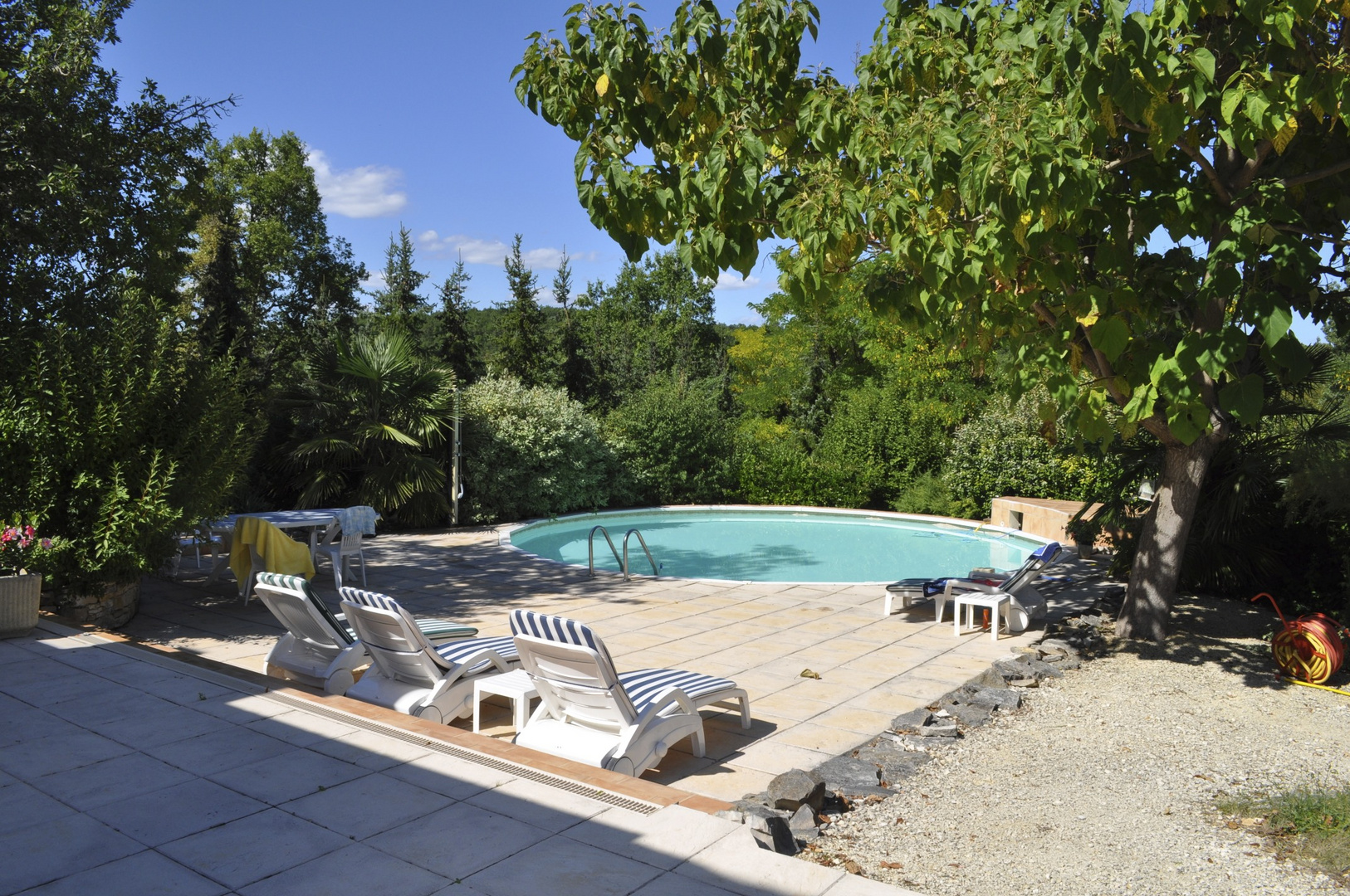 """swimmingpool at """"Les Carroux"""""""