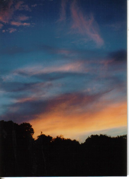 SWIRLS AT SUNSET