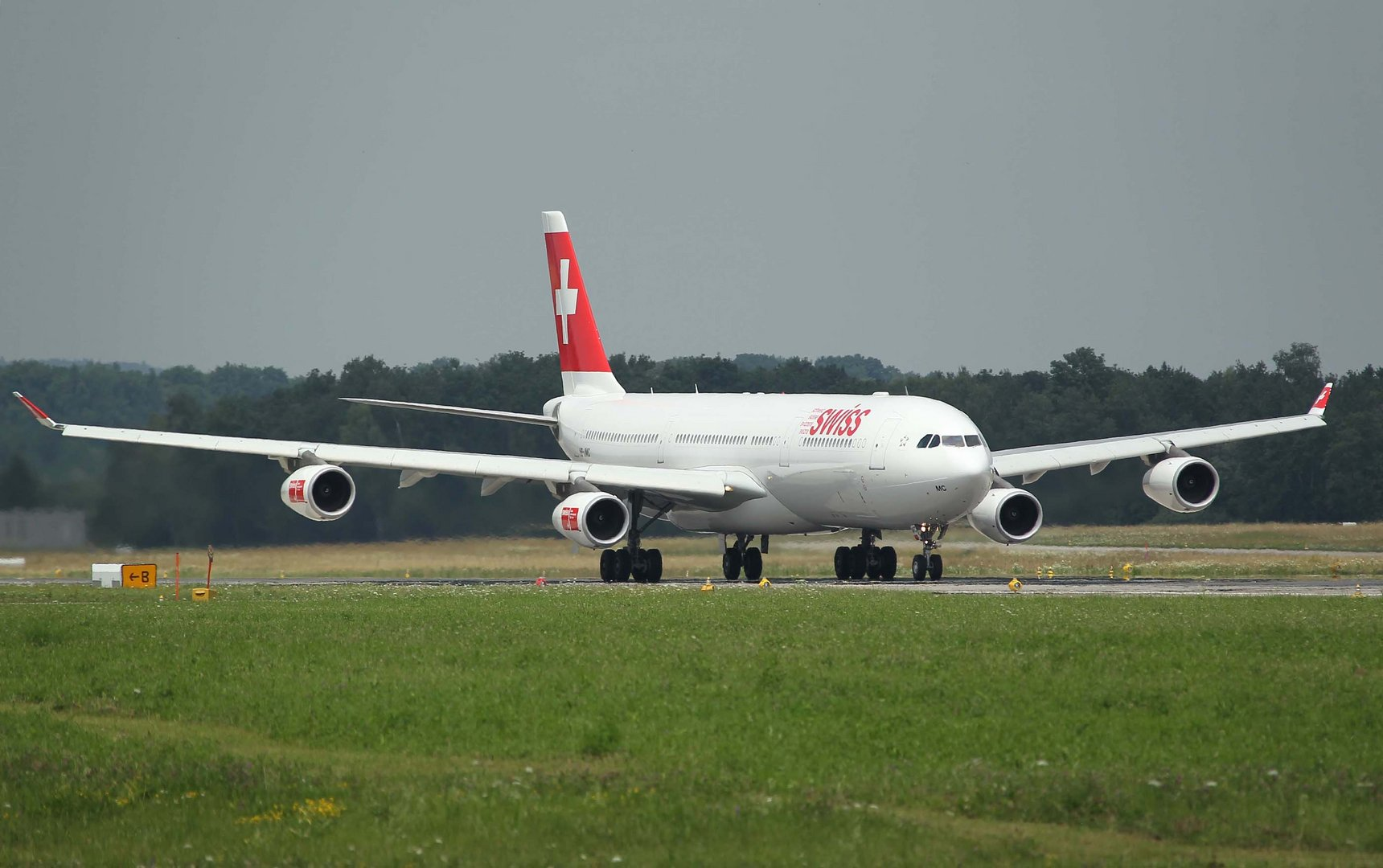 Swiss 340 Take Off