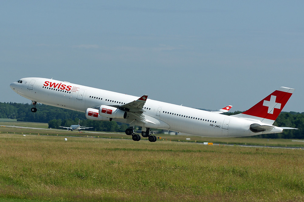 Swiss Airbus A340-313
