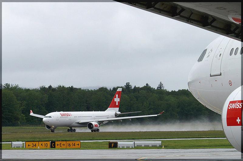 Swiss im Regen 1