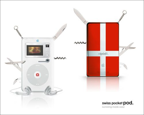 swiss pocket pod.