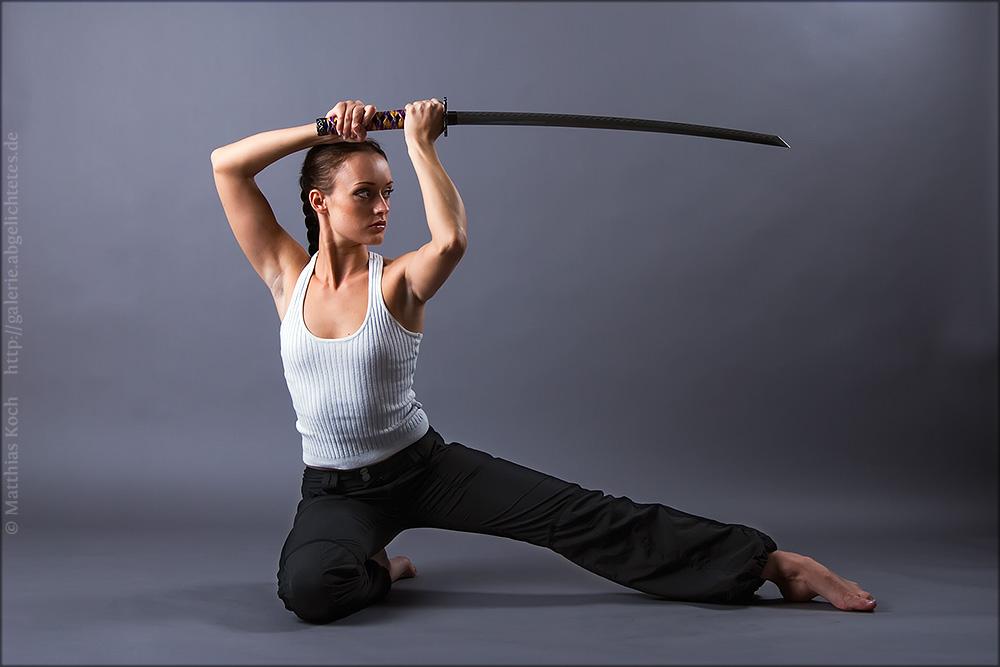 Swordwoman Katana