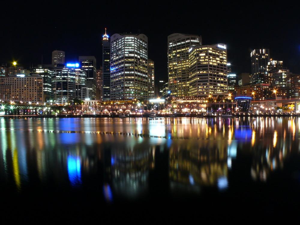 Sydney bei Nacht März 2009