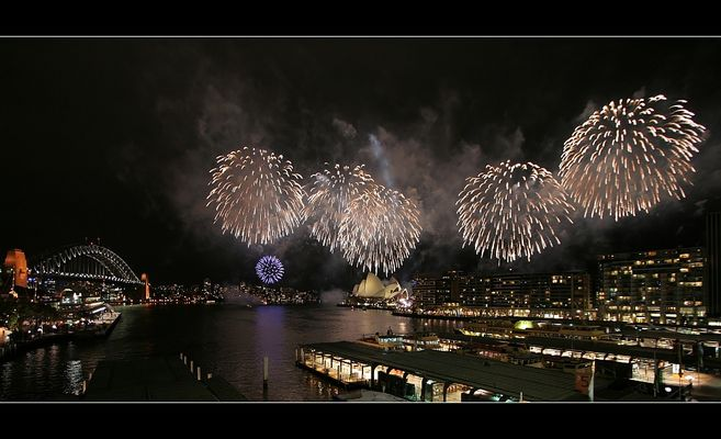 *** Sydney Fireworks ***