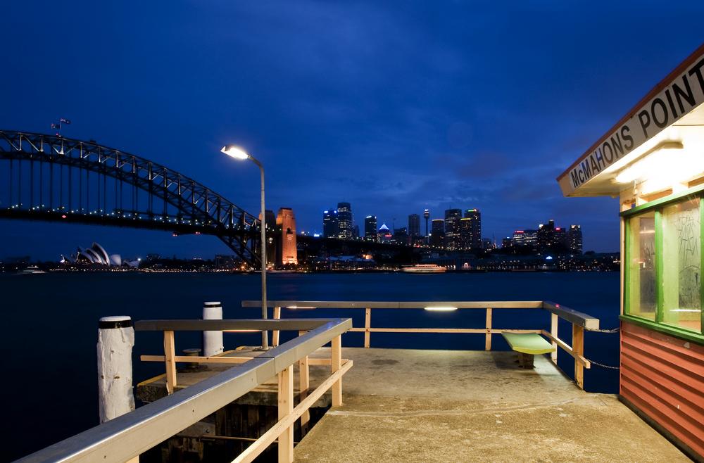 Sydney Harbourbridge mit Oper