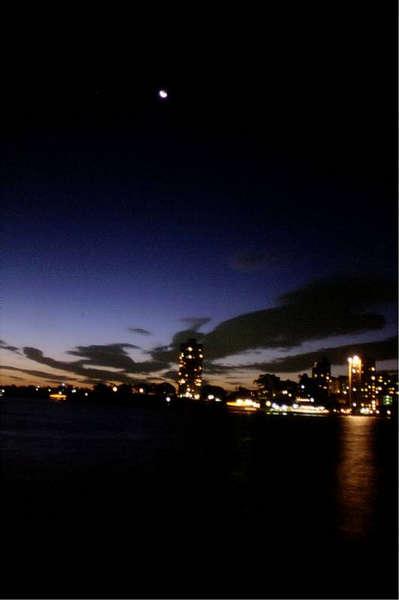 Sydney nach dem Sonnenuntergang