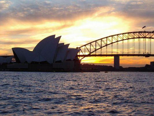 Sydney - Opera - Harbour Bridge