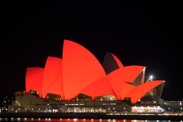 Sydney Opera House Worlds Aids Day 2011
