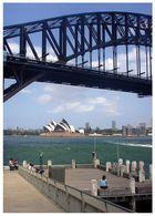 Sydneys Oper und die Brücke