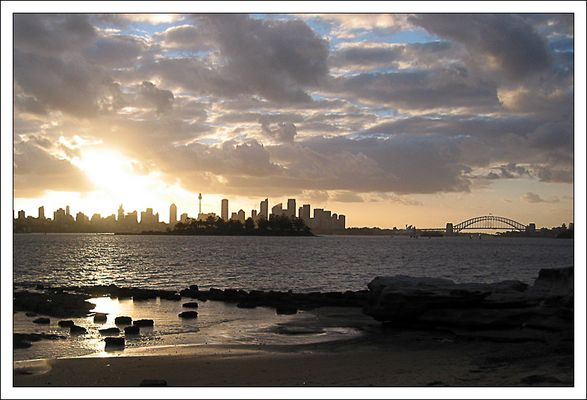 Sydney's skyline seen from Nielsen Park