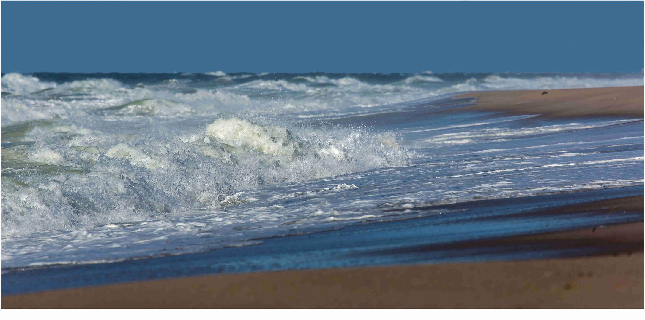Sylt, es rauscht auf den Strand....