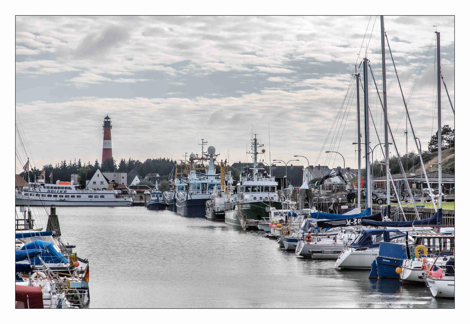 Sylt, - Hafen Hörnum