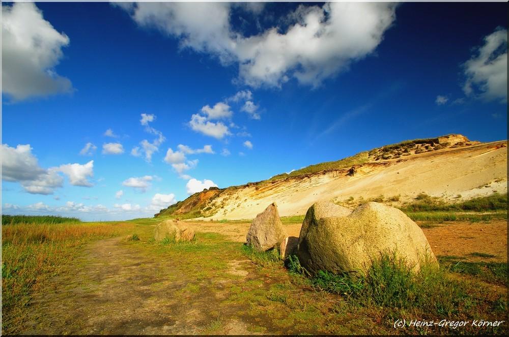 Sylt Morsum-Kliff Findlinge