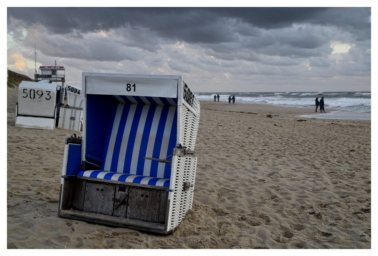 Sylt Schietwetter Who'll stop the Rain
