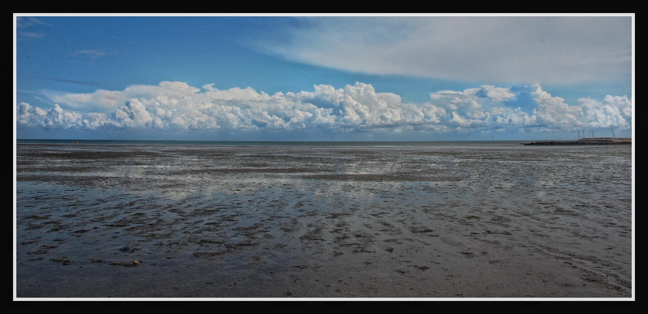 Sylt - Wattenmeer bei Rantum