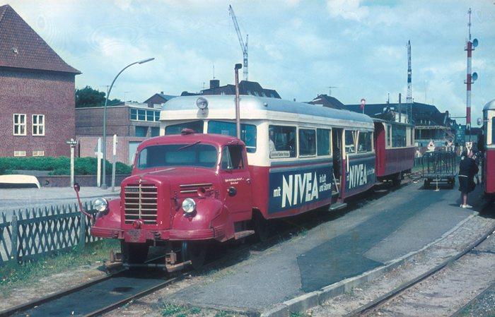 Sylter Kleinbahn im Juni 1968