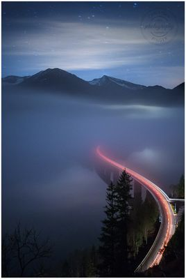 Sylvenstein | Foggy Night