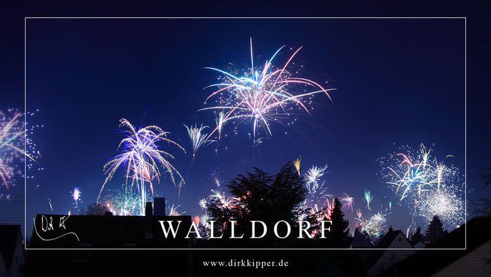 Sylvester 2013 über Walldorf