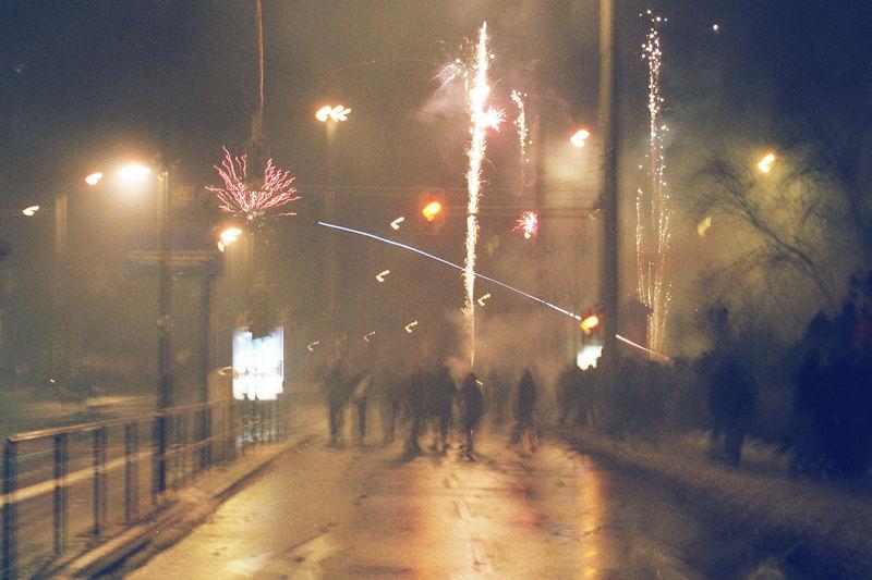Sylvester 3 - Feuerwerk am Kreuz