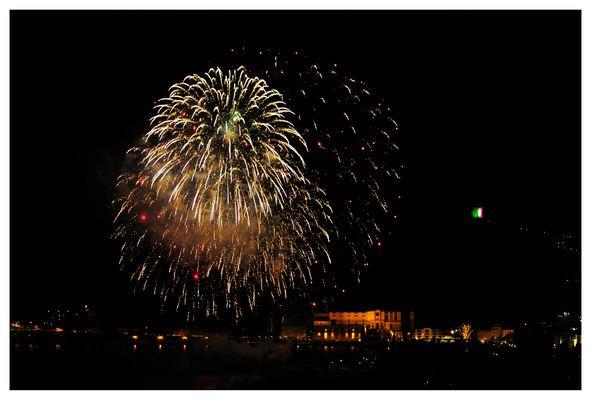 Sylvester-Feuerwerk in Riva del Garda 3