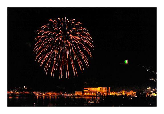 Sylvester-Feuerwerk in Riva del Garda