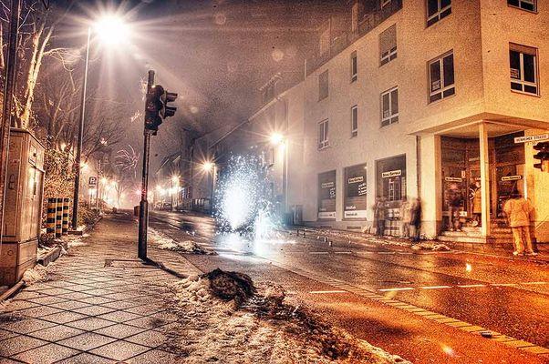 Sylvesternacht im Martinsviertel