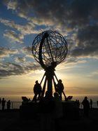 Symbol für den nördlichsten Punkt Europas