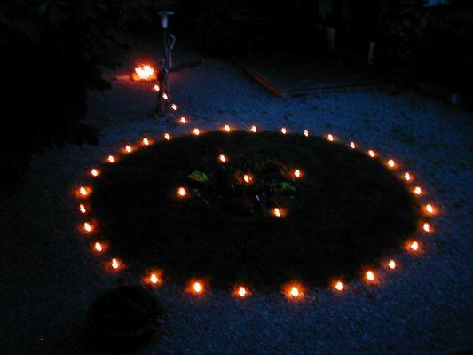 Symbol im Garten