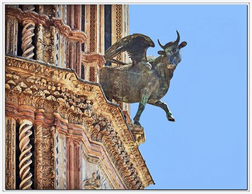 symbole de luc èvangeliste....14è siècle