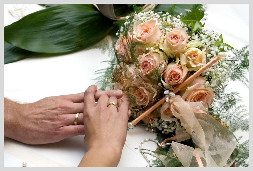 Symbole der Ehe