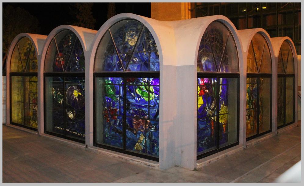 Synagoge Jerusalem, Marc Chagall