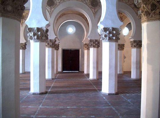Synagoge Santa Maria la Blanca in Toledo