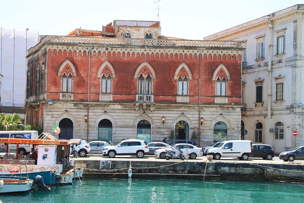 Syrakus - Palazzo ..