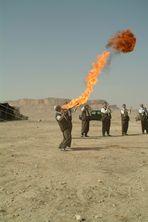 Syrischer Feuerschlucker
