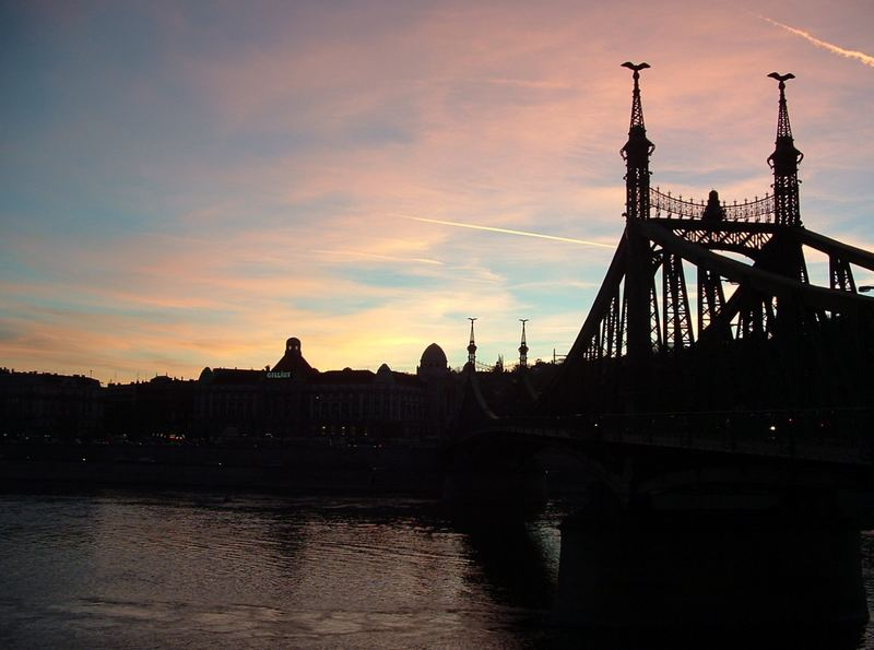Szabadság Híd (Freiheitsbrücke) Budapest