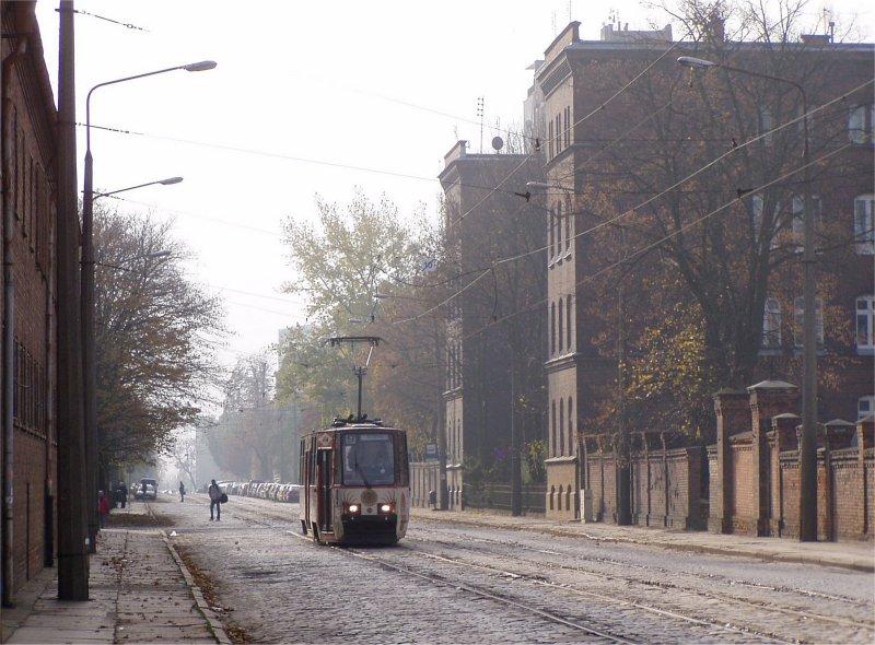 Szczecin: Altdeutsche Straßenidylle