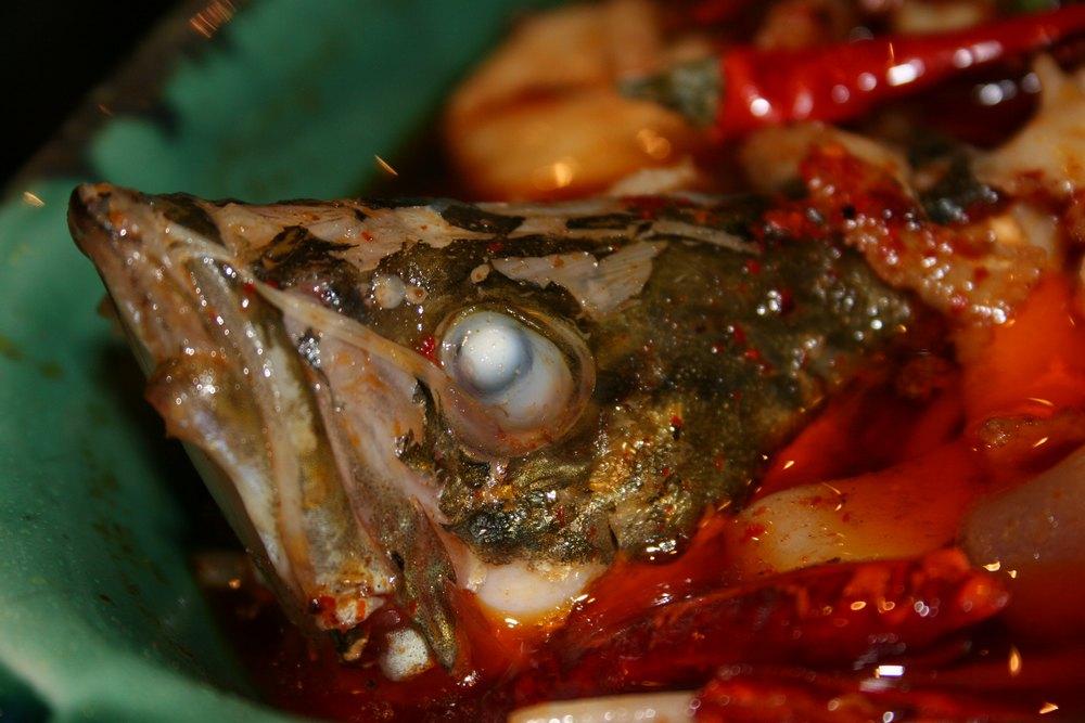 ... Szechuan Fisch, ... lecker