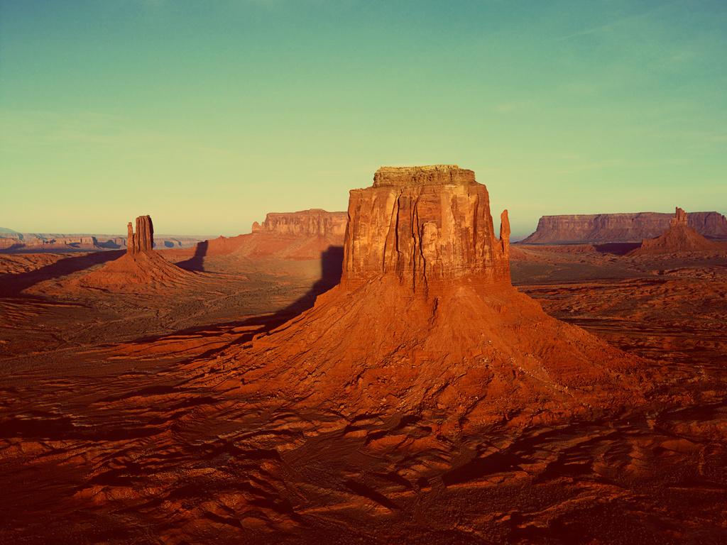 szene der wüste
