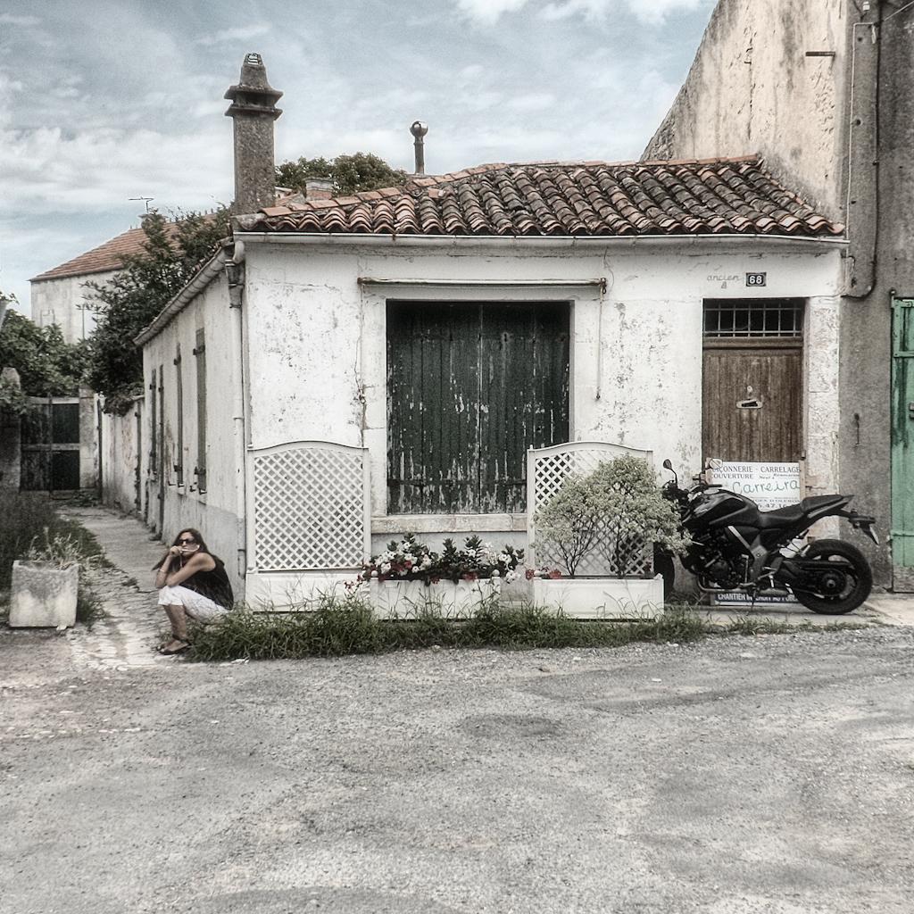 Szene in Frankreich