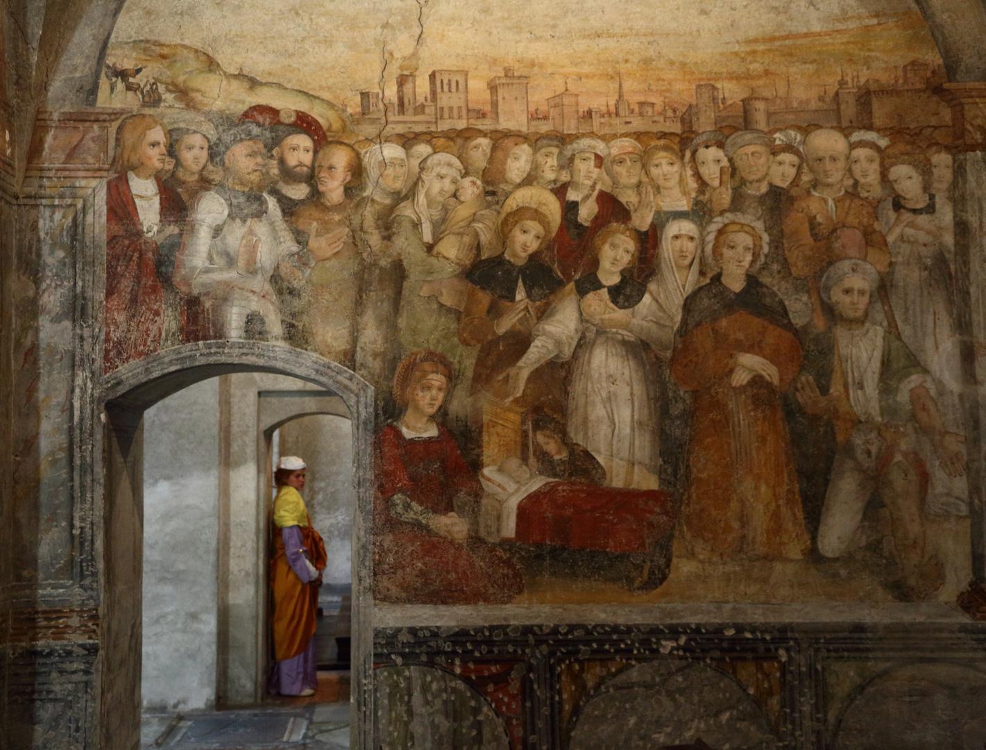 Szene in S. Maria degli Angioli - Lugano