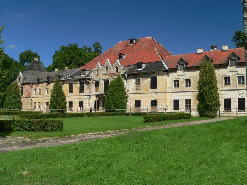 Sztynort / Steinort ehemals Sitz der Familie Lehndorff