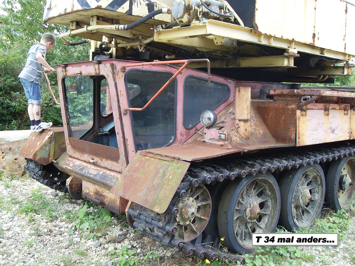 T 34 mal anders...