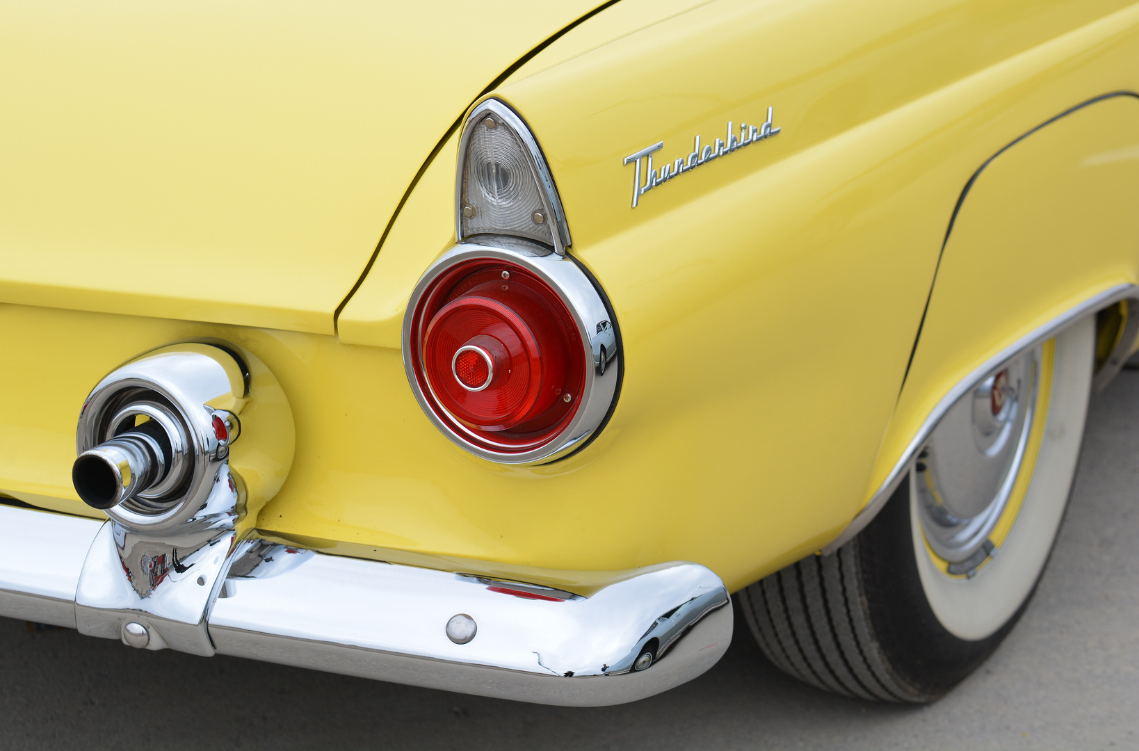 T-Bird - Ford Thunderbird 1956