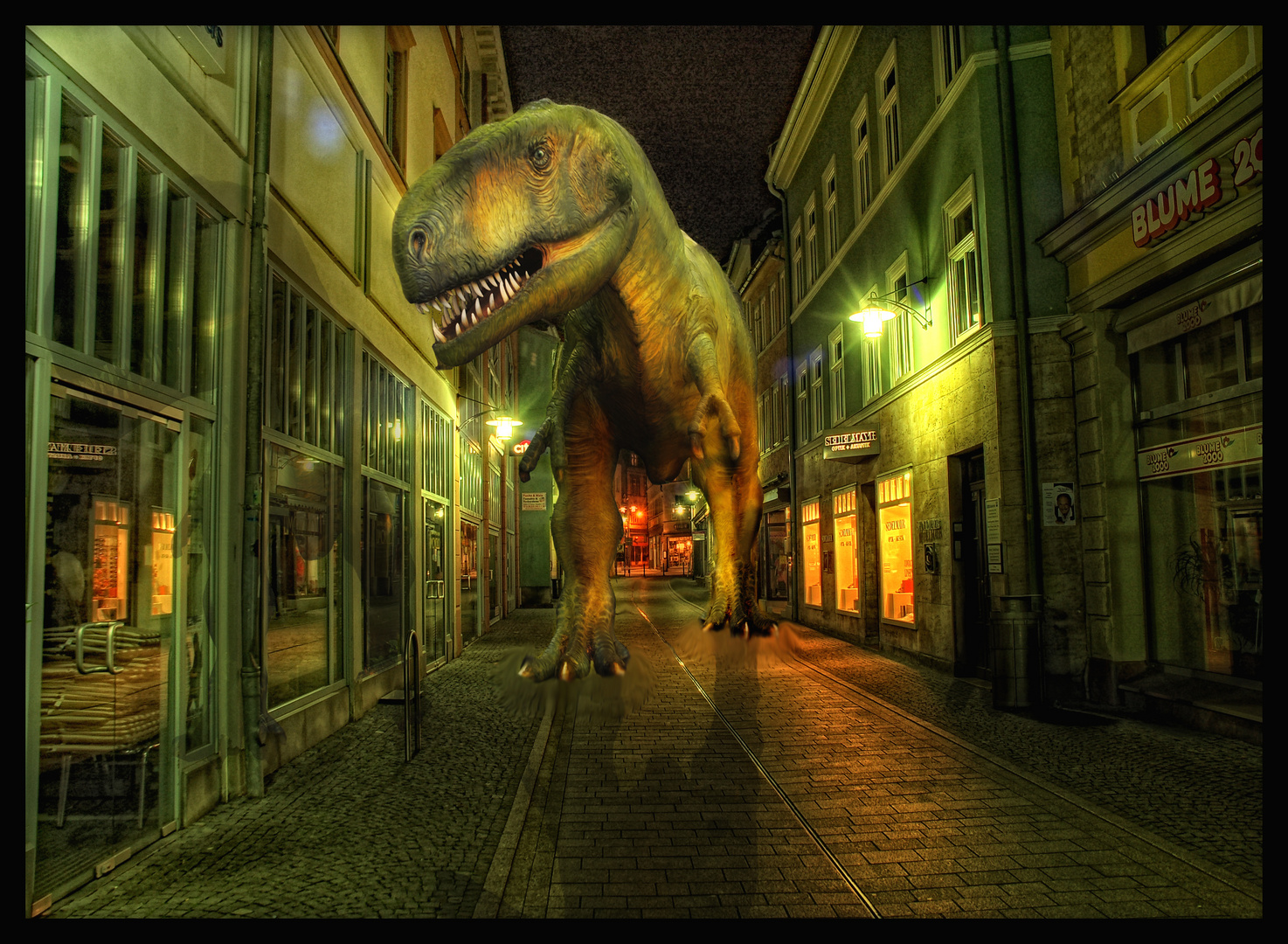 T-rex in the City