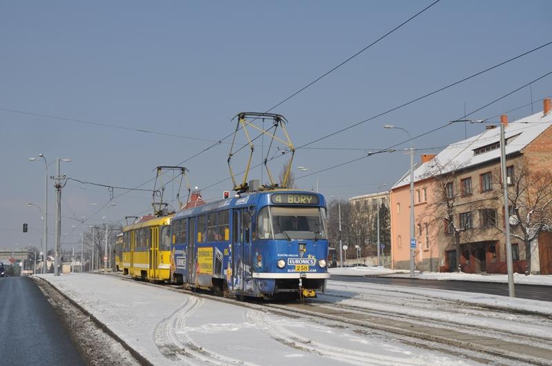 T3 Doppeltraktion in Plzen