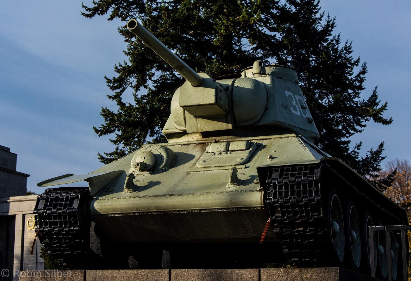 T34 in Berlin