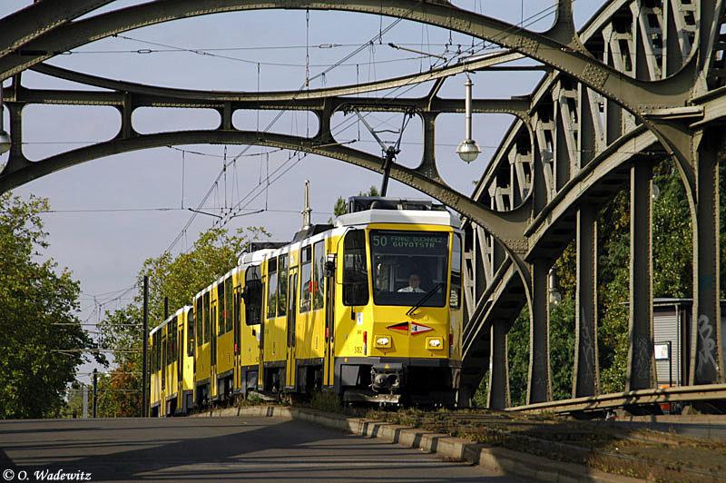 T6 Sonderfahrt am 03.10.07 in Berlin
