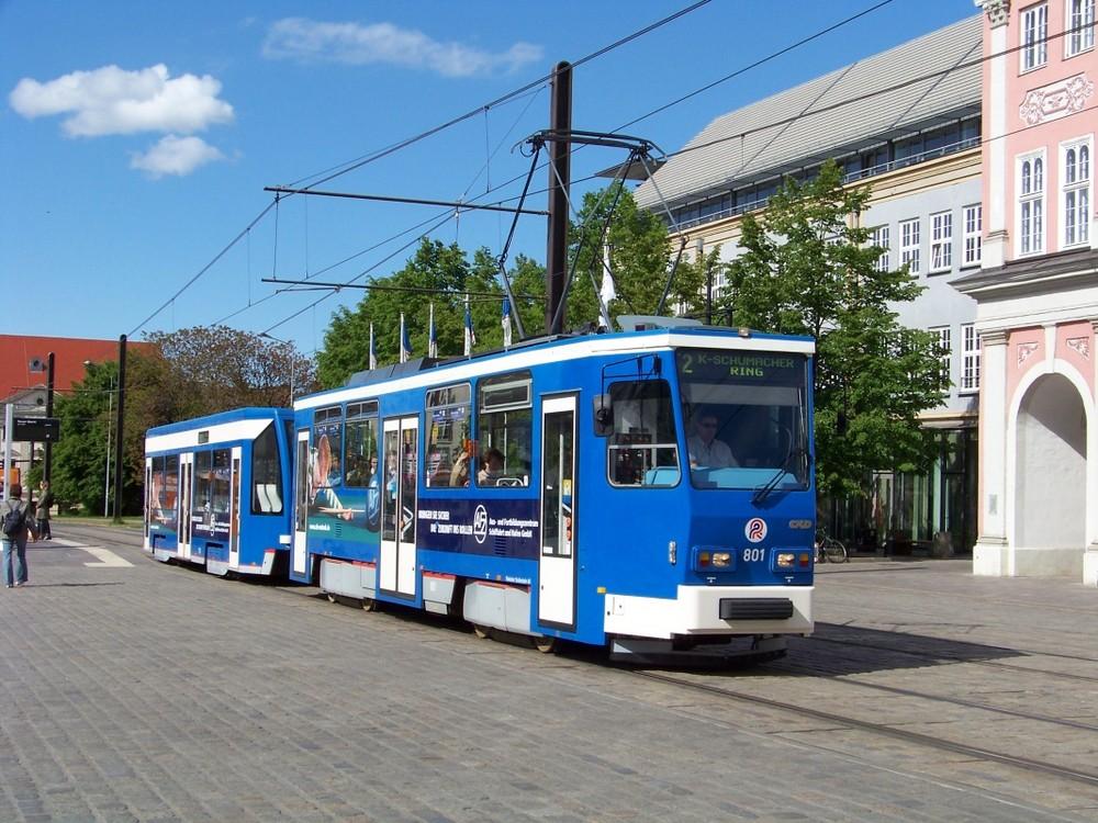 T6A2 in der Rostocker Innenstadt